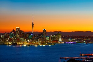 The Sky tower with its orbiting restaurant. Fully accessible restaurant, accommodation and facilities for our guests