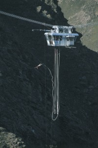 Nevis high wire bungy