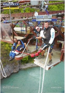Disabled Bungy jumper